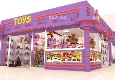 فروشگاه اسباب بازی (پروژه تایم اسکوئر-بصره)